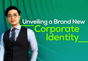 Unveiling a Brand New Corporate Identity