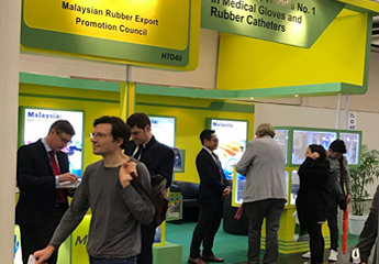 Made-in-Malaysia Rubber Products Promoted at the World's Largest Medical Show - MEDICA 2016