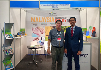 MREPC Promotes Made-in-Malaysia Rubber Products at International Rubber Conference