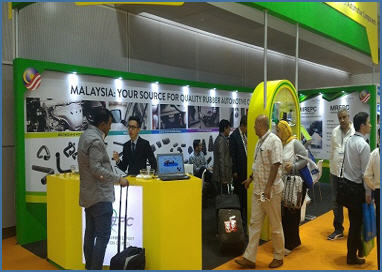MREPC's booth at Automechanika KL 2017.