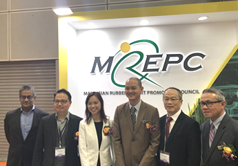 Deputy Minister of MITI visited MREPC booth