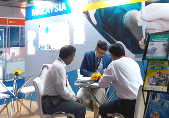 Business Matching Session at MREPC Booth