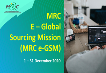 Promoting Malaysian Rubber Products through MRC's E-Global Sourcing Mission (e-GSM)