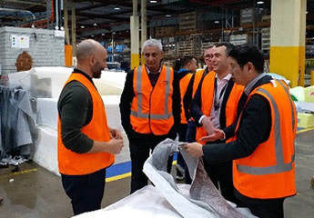 Factory Visit to A.H Beard Bedding Manufacturer